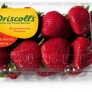 Strawberries Long Stems 454 g Driscoll's