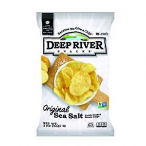 Skip to the beginning of the images gallery Deep River Original Salted Kettle Chips