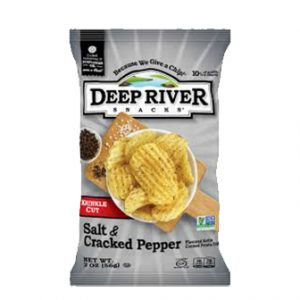 Deep River Cracked Sea Salt & Pepper 56 G.